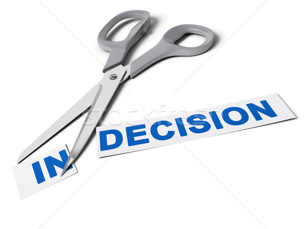 Decision Maker, Decisive Choice Stock photo © olivier_le_moal