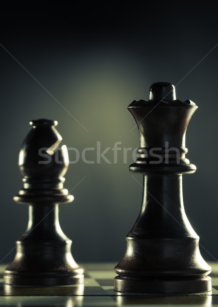 Chess Game Vertical  Stock photo © olivier_le_moal