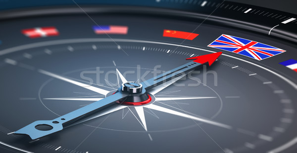 Focus on England - Concept Stock photo © olivier_le_moal