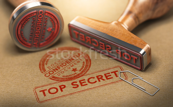 Top Secret Documents, Sensitive Information Stock photo © olivier_le_moal