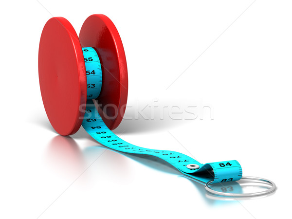 yoyo effect - weight loss - diet Stock photo © olivier_le_moal