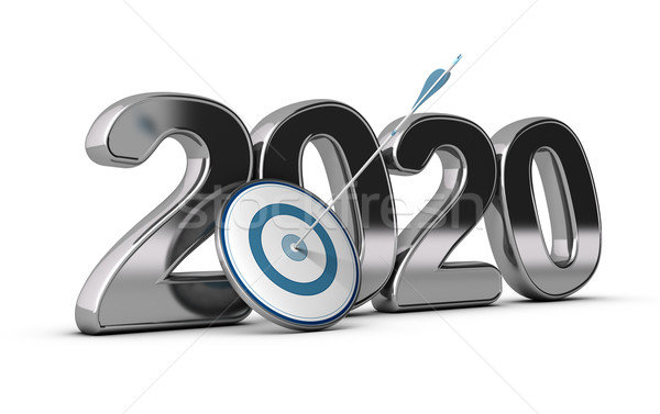 2020 Long or Mid Term Goal Stock photo © olivier_le_moal