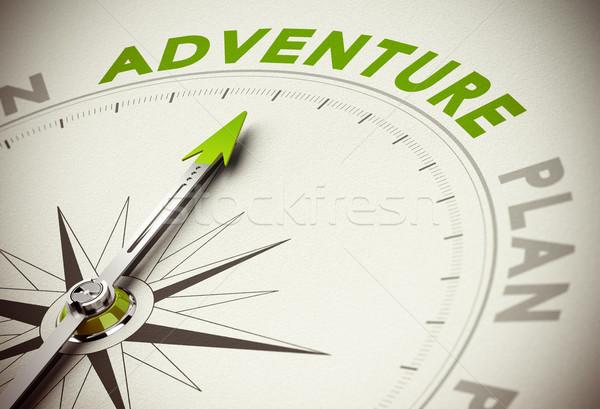 Adventure vs Plan Stock photo © olivier_le_moal