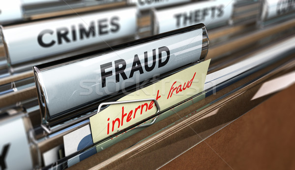 Internet Fraud, Online Scams Stock photo © olivier_le_moal