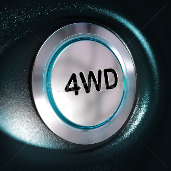 4WD Button, Four Weel Drive, 4x4 Switch Stock photo © olivier_le_moal