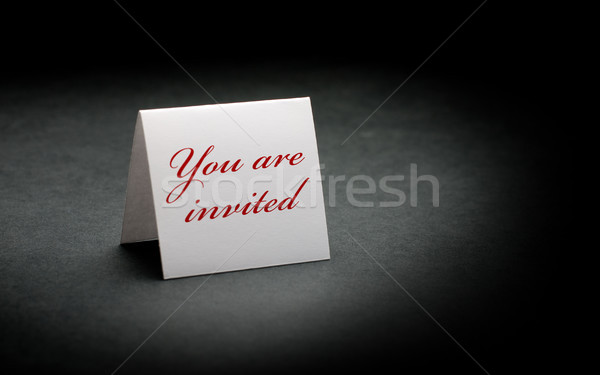 you are invited Stock photo © olivier_le_moal