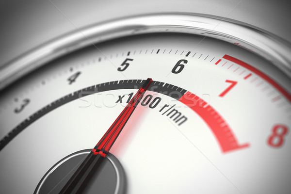 tachometer close up Stock photo © olivier_le_moal