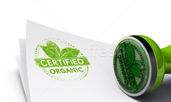 Organic Certified Background Stock photo © olivier_le_moal