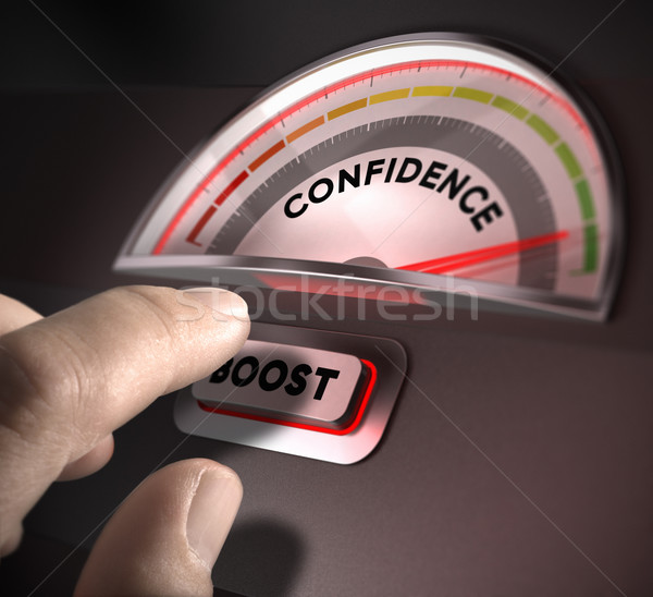 Self Confidence Stock photo © olivier_le_moal