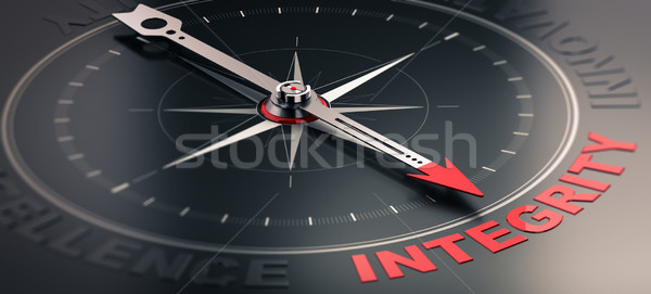 Core value - Integrity Stock photo © olivier_le_moal