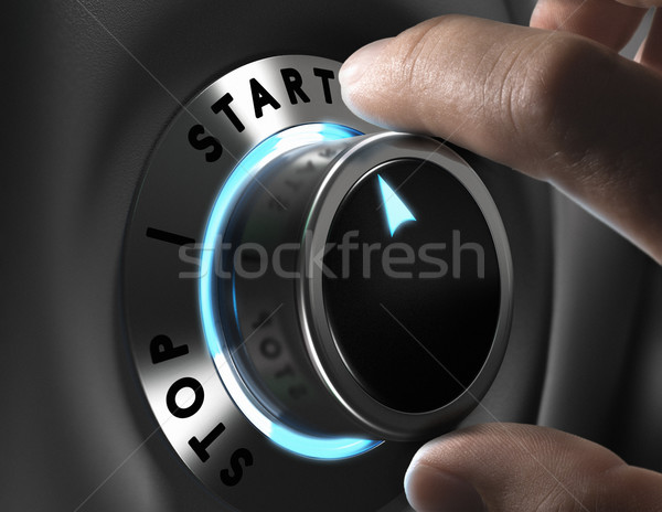 Start Button Stock photo © olivier_le_moal