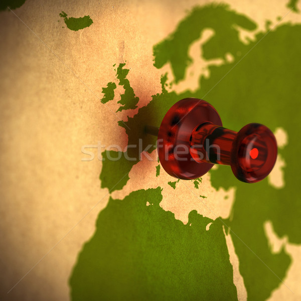 choosing destination, western europe Stock photo © olivier_le_moal