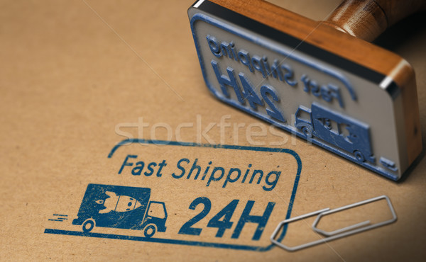 Fast Shipping, Twenty Four hours or One Day Stock photo © olivier_le_moal