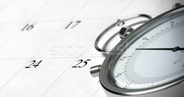 time management Stock photo © olivier_le_moal