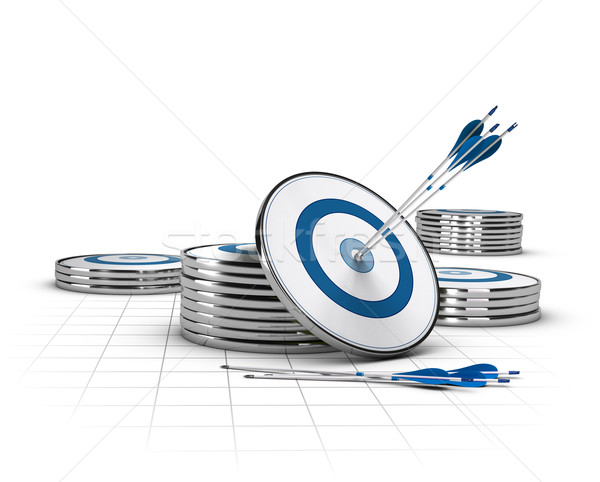 élevé potentiel affaires image marketing Photo stock © olivier_le_moal