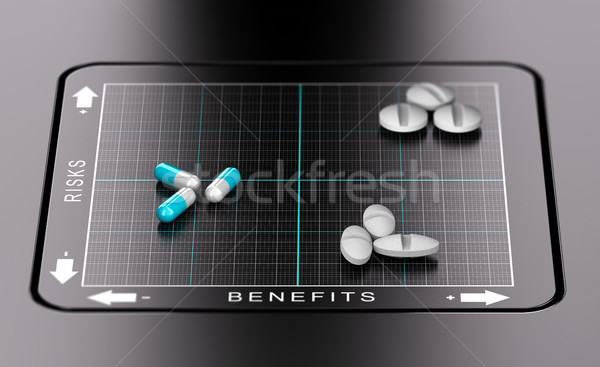 Risk Benefit Assessment of Drugs Stock photo © olivier_le_moal