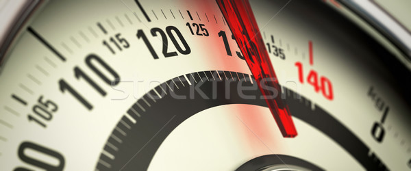 Overweight and Obesity, Bathroom Scale Stock photo © olivier_le_moal