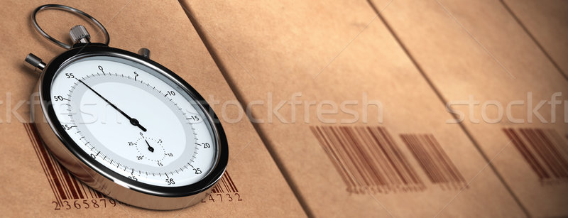 productivity banner, measure of production Stock photo © olivier_le_moal