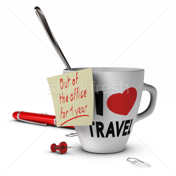 Sabbatical Leave Concept Stock photo © olivier_le_moal