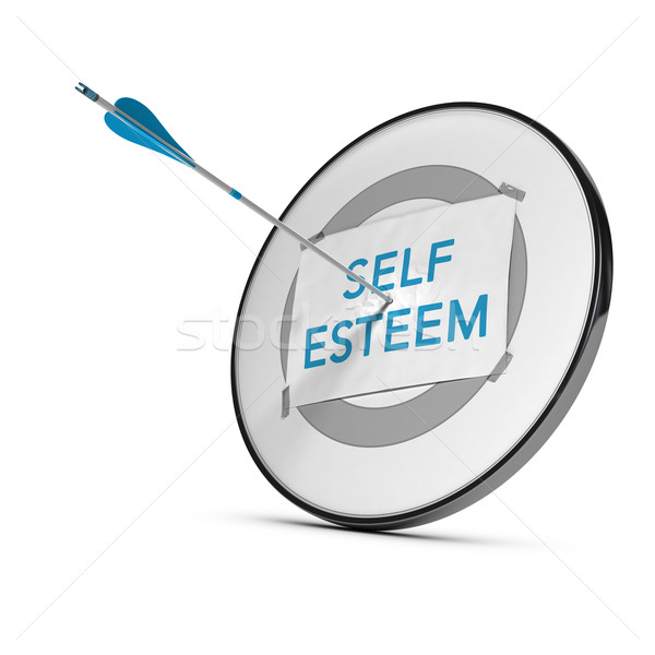 Achieve Self Esteem Stock photo © olivier_le_moal