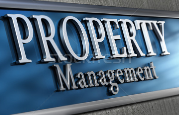 Property Management Company Stock photo © olivier_le_moal