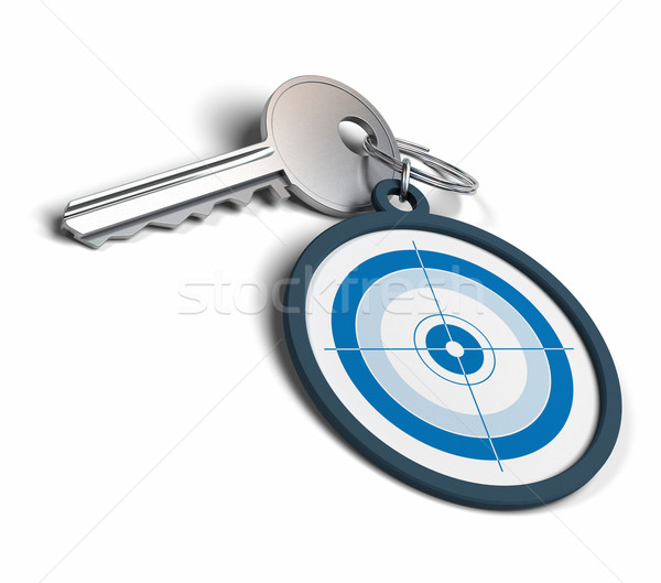 The key to achieving objectives Stock photo © olivier_le_moal