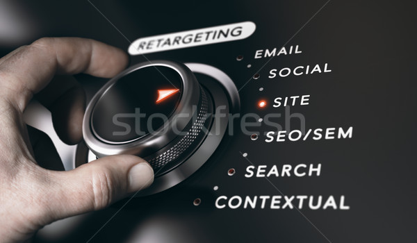 Retargeting or Remarketing Concept Stock photo © olivier_le_moal
