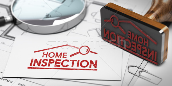 Home inspector, Buyer or Seller Property inspection. Stock photo © olivier_le_moal