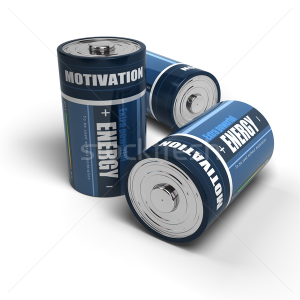 Business motivation - Energy for successful job or life Stock photo © olivier_le_moal