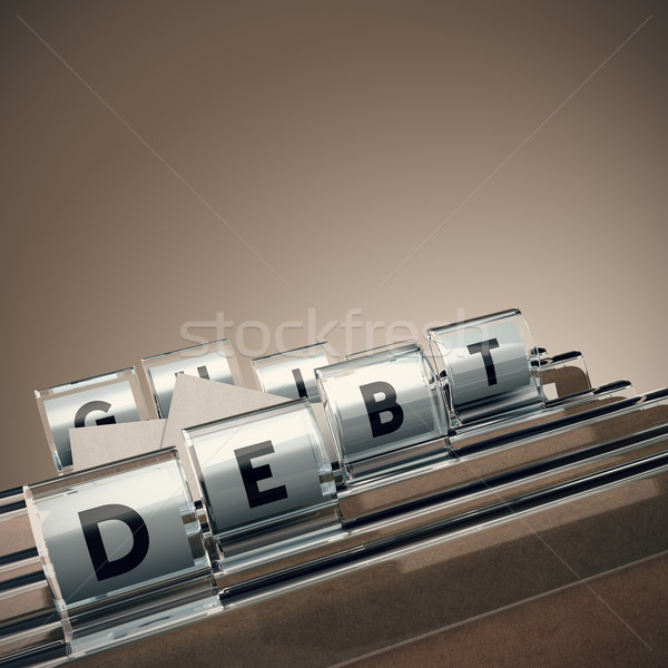 Debt Management Stock photo © olivier_le_moal