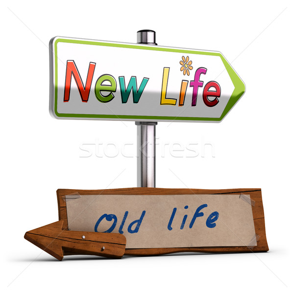 New Life, 3D Image Stock photo © olivier_le_moal