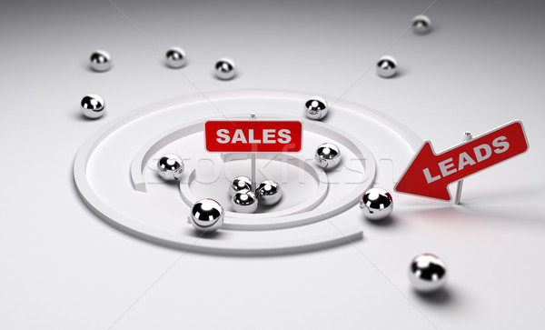 Converting Leads to Sales Stock photo © olivier_le_moal