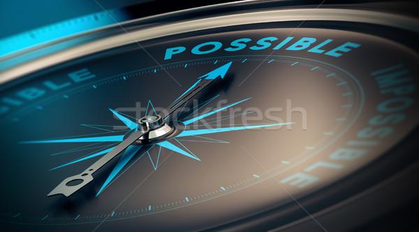 Motivação motivacional realização obrigado confiança Foto stock © olivier_le_moal