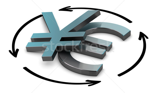 Euro Yen Convert Stock photo © olivier_le_moal