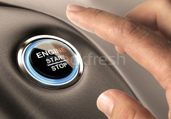 Starter Button Stock photo © olivier_le_moal