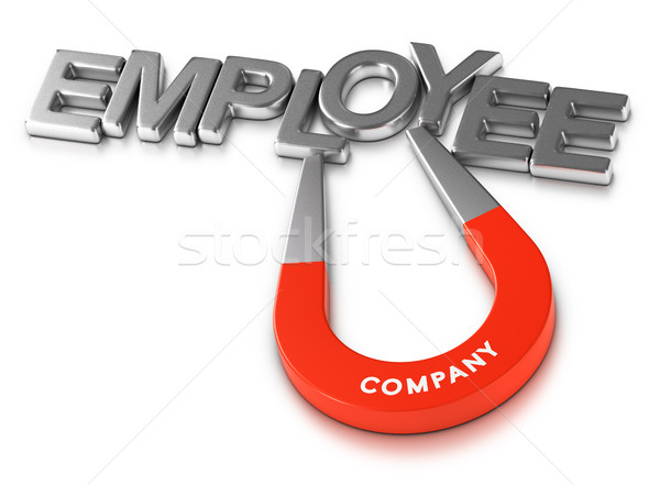 Attractive Employer and Employees Retention Program Stock photo © olivier_le_moal