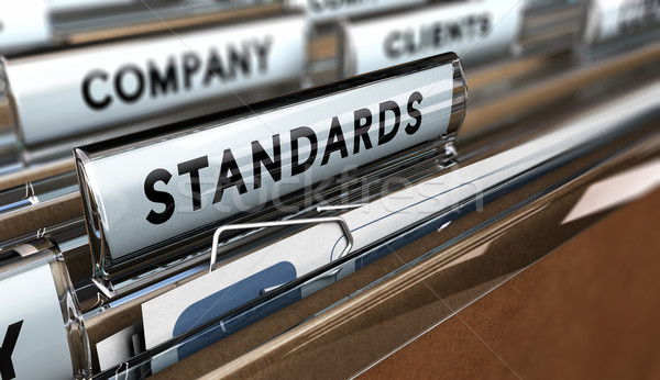 Quality Standards Stock photo © olivier_le_moal