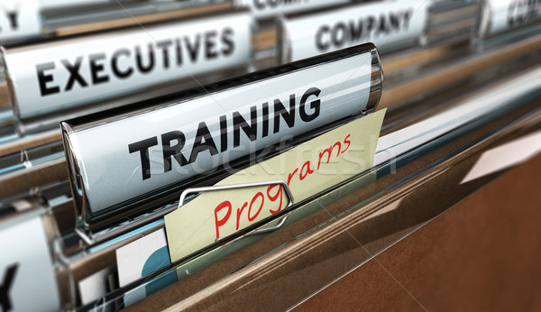 Corporate or Employee Training. Stock photo © olivier_le_moal