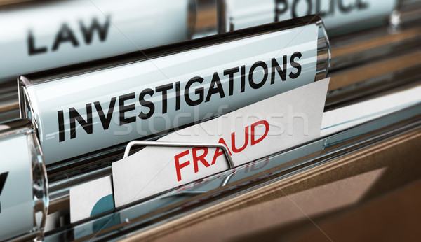 Fraud Investigation, Detective Files Stock photo © olivier_le_moal