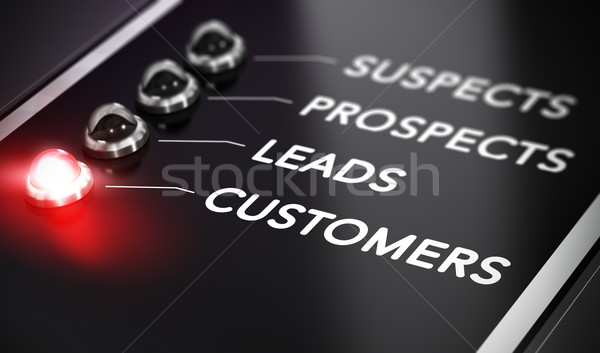 Lead Conversion Stock photo © olivier_le_moal