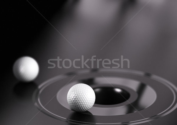 Business Strategy, Close to the Objective Stock photo © olivier_le_moal