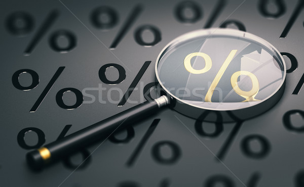 Compare The Best Mortgage Rates, Consumer Credit Comparison Stock photo © olivier_le_moal