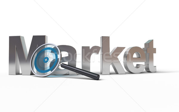 Market analysis Stock photo © olivier_le_moal