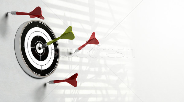 reaching objectives Stock photo © olivier_le_moal