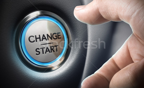 Change Decision Making Concept Stock photo © olivier_le_moal