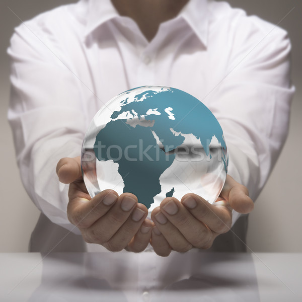 Global Business Stock photo © olivier_le_moal