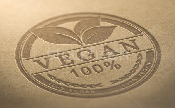 Vegan Product Certified Stock photo © olivier_le_moal