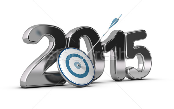 2015 Objectives Concept Stock photo © olivier_le_moal