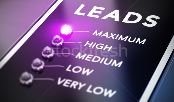 Lead Generation Stock photo © olivier_le_moal