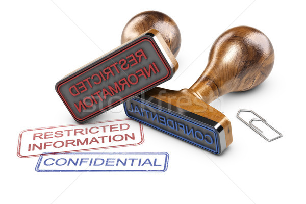 Restricted Information, Confidential Data Stock photo © olivier_le_moal